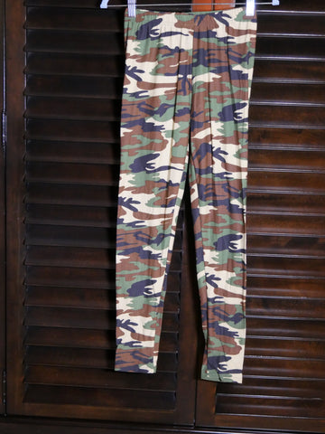 leggings - Army Camo