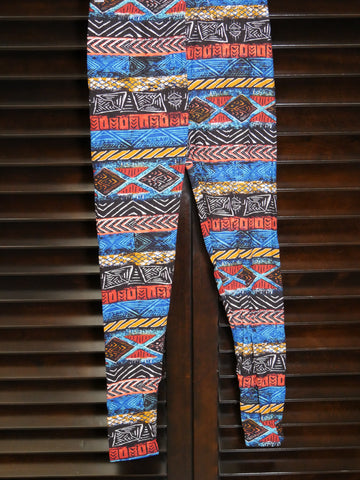 leggings - African print