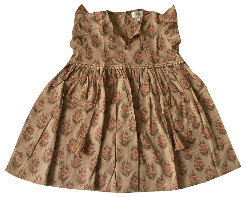 Little Prairie Dress ~ Desert Rose
