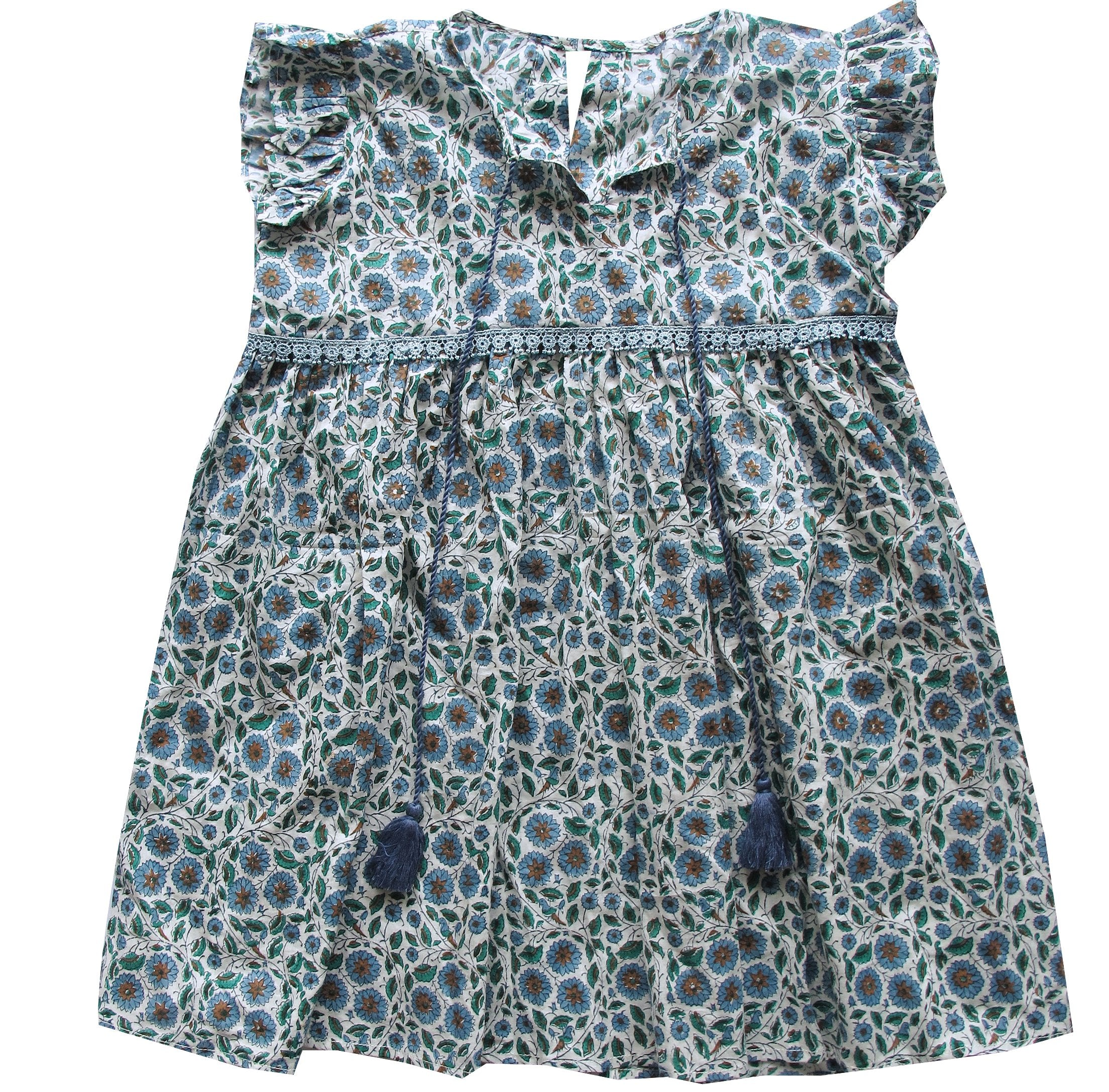 Little Prairie Dress ~ Periwinkle