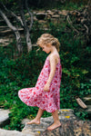 Garden Party Dress - Blush