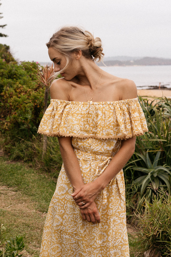 Tuscany Off Shoulder Dress