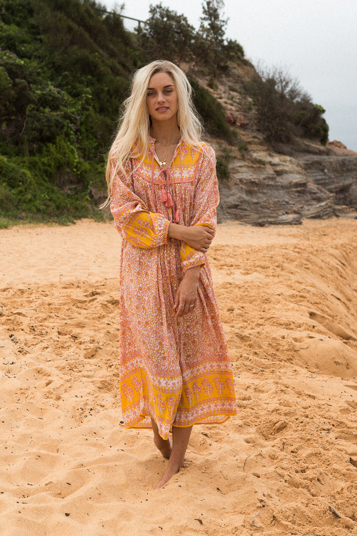 PRE ORDER Ladies Luna Dress - Sunset