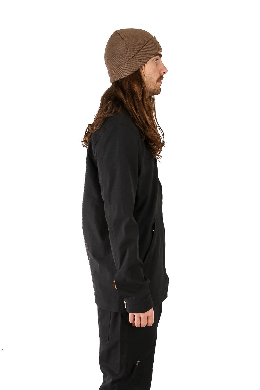 Shred Shacket Black
