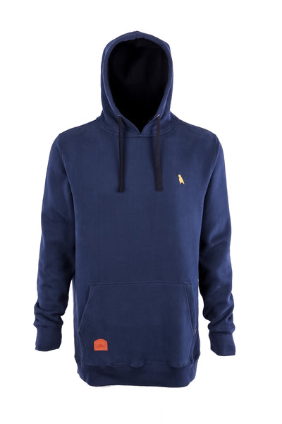Regular Fit Old Mate Hoodie Petrol Blue - Yuki Threads