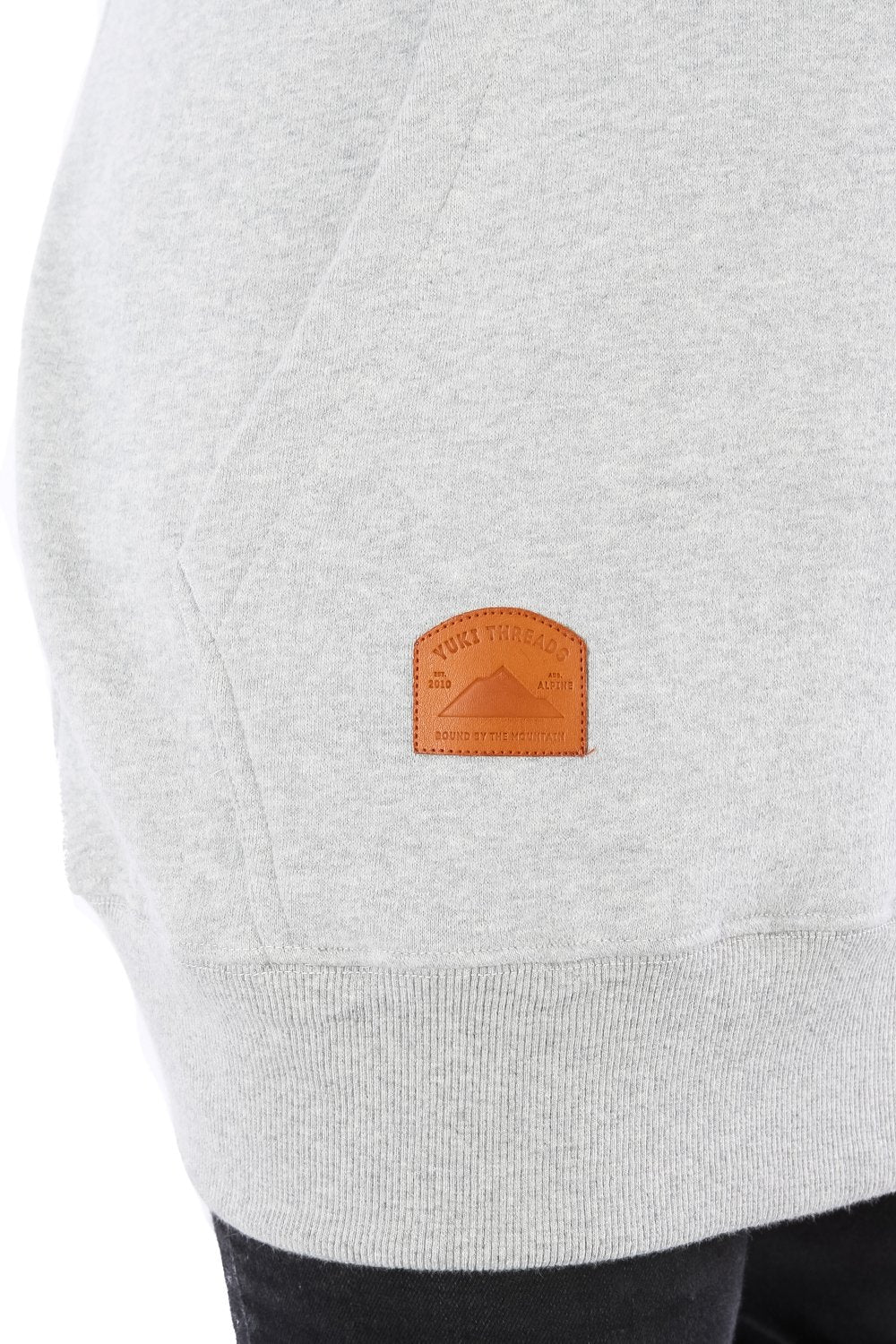 Slim Fit Oldmate Hoodie Heather Grey - Yuki Threads
