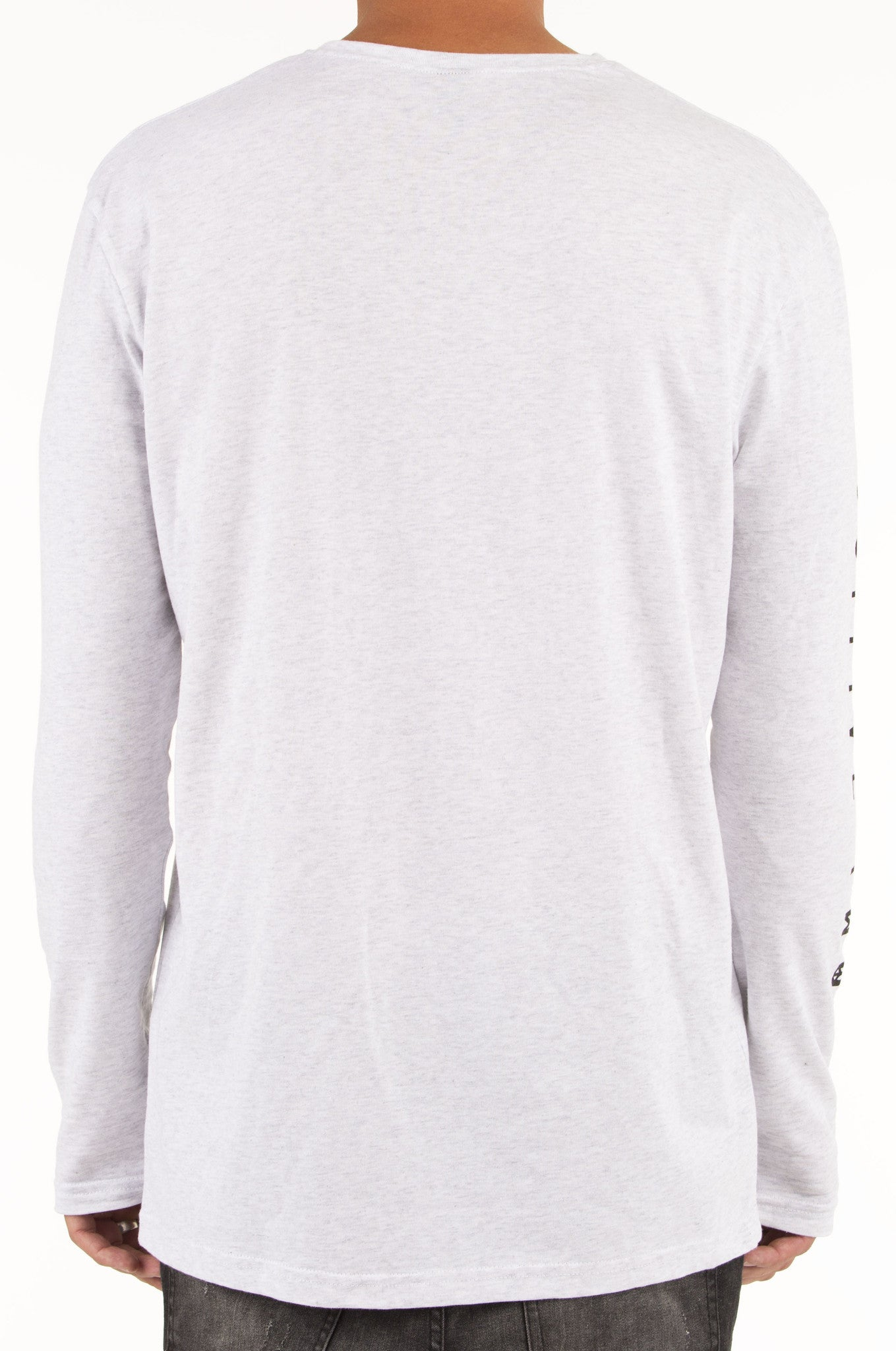 Legend Long Sleeve Tee Snow Marle