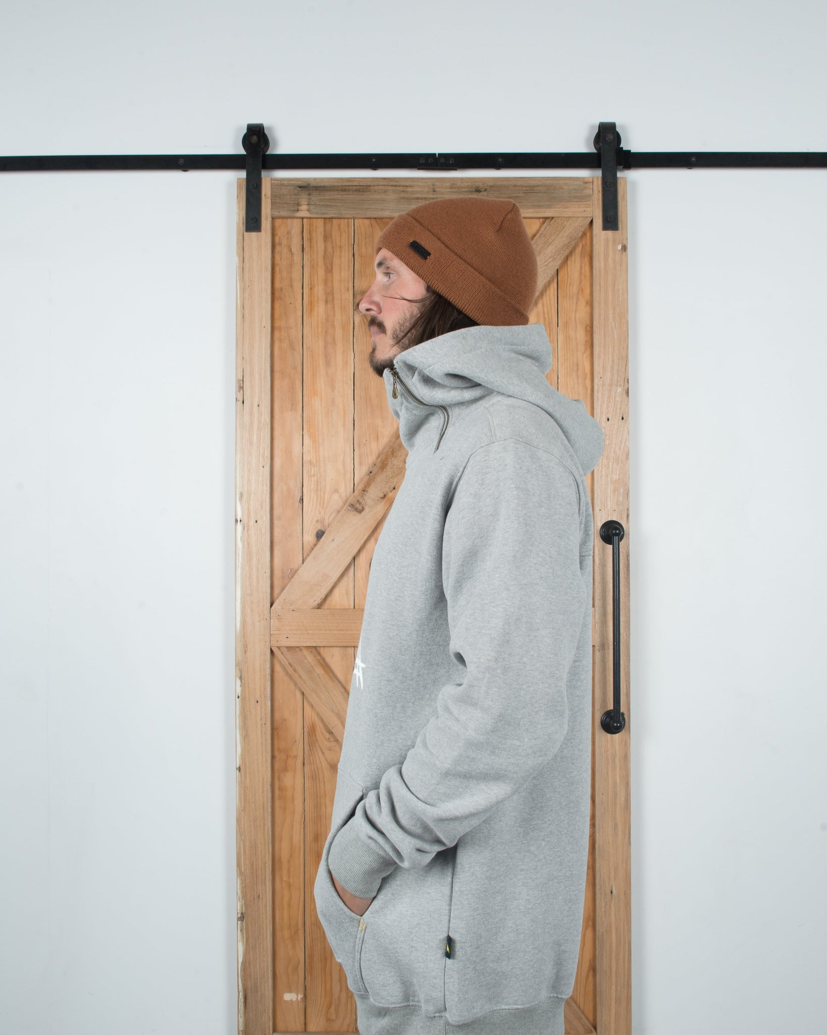 Ronin Hoodie Heather Grey - Yuki Threads