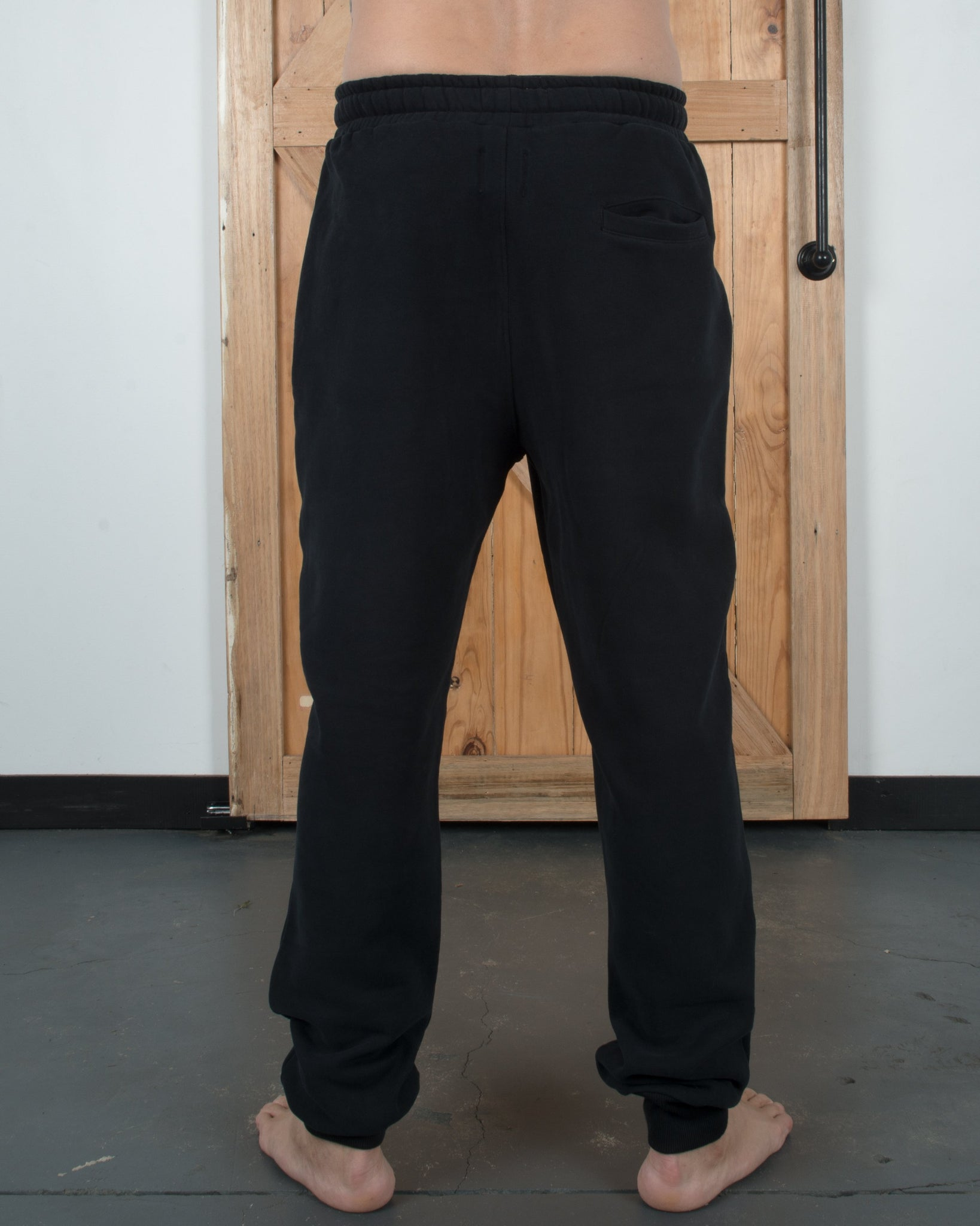 Quitters Track Pant Black - Yuki Threads