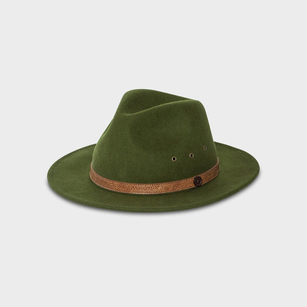 Jungle Green Fedora