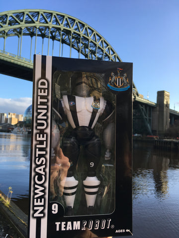 NUFC Team Robot Action Figure Toy