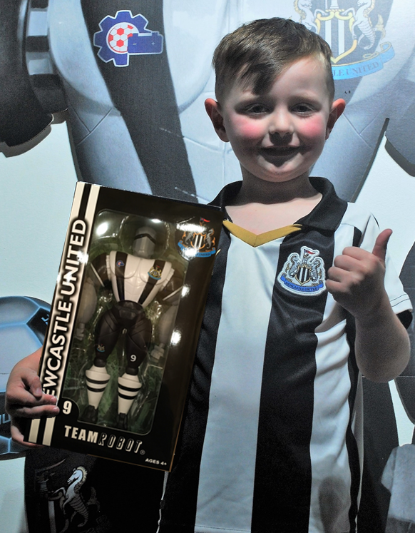 Newcastle United Action figure
