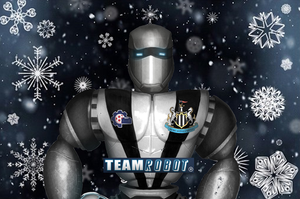 Newcastle United Team Robot