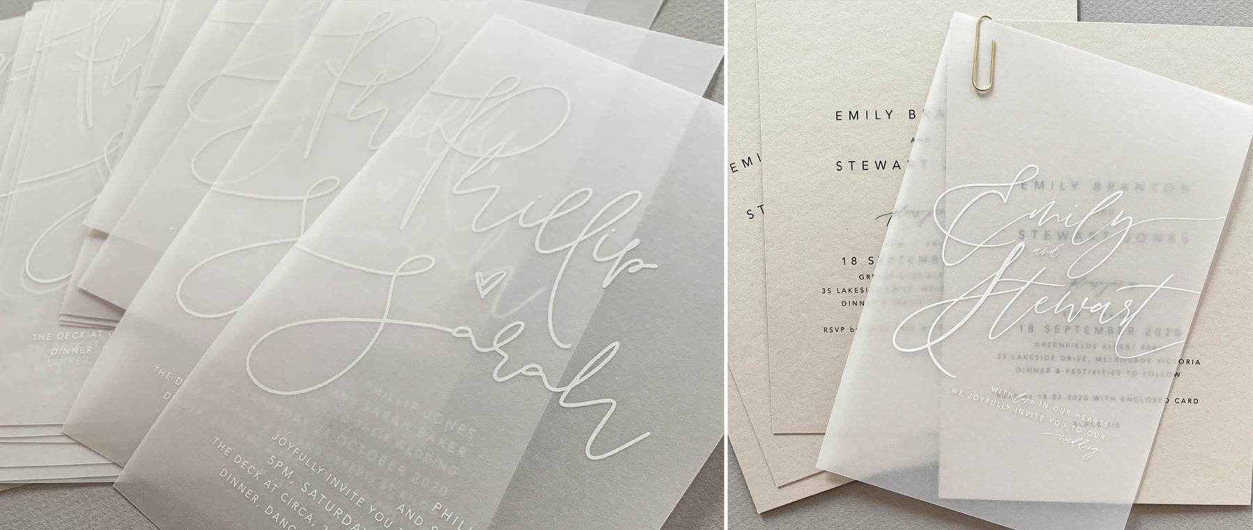 State Of Elliott Designer Wedding Invitations And Stationery
