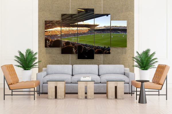 Stadium Football Soccer - 5 piece Canvas - EpicKanvas