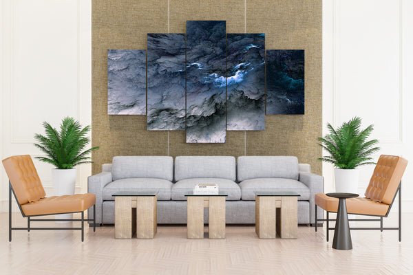 5 Piece Beautiful Cloud Colors Canvas For Home & Office Decor - EpicKanvas