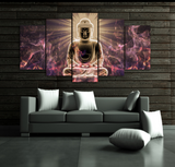 5Pcs Framed Canvas Professionally Designed Buddha For Home and Office Decor - EpicKanvas