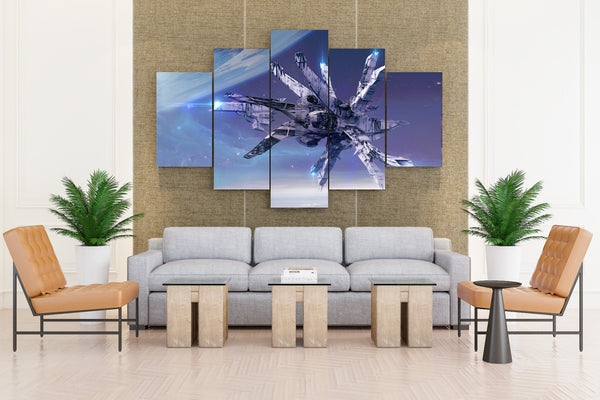 Farewells Fantasy: Corals Col Price Horizon - 5 piece Canvas