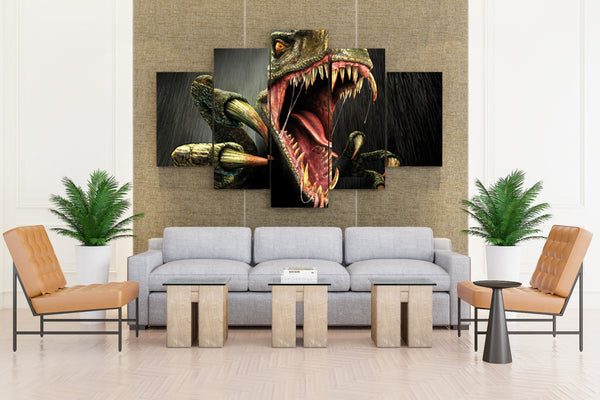 Dinosaur Turok Fang & Claws - 5 piece Canvas