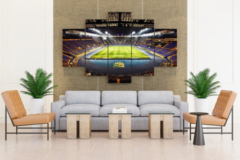 FIFA WORLD CUP Brazil soccer - 5 piece Canvas