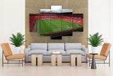 Fields stadium manchester united fc manchester - 5 piece Canvas - EpicKanvas