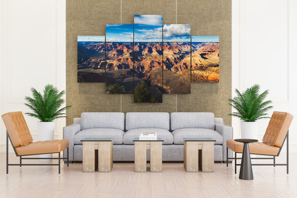Grand Canyon Park USA Parks Scenery - 5 piece Canvas - EpicKanvas