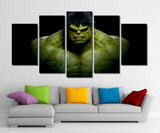 5 Piece Framed Marvel Avengers Hawkeye Super Hero Artwork Hawk on Wall Art for Office and Home Wall Decor