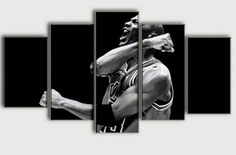 Michael Jordan Power Canvas - 5 piece Canvas