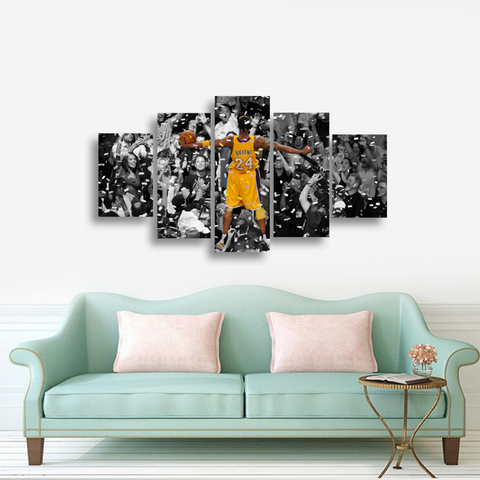 Kobe Bryant: Elevate Yourself - 5 piece Canvas - EpicKanvas