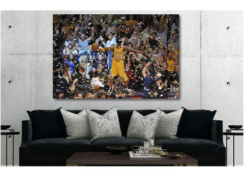 "1 Pc Framed ORIGINAL Kobe Bryant #8 Black Mamba ""Kobe Celebration"" Canvas Art for your Home/Office Space - EpicKanvas"