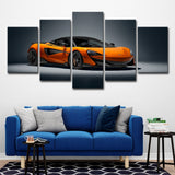 5Pcs Sports Car Art For Your Home/Office Room - EpicKanvas