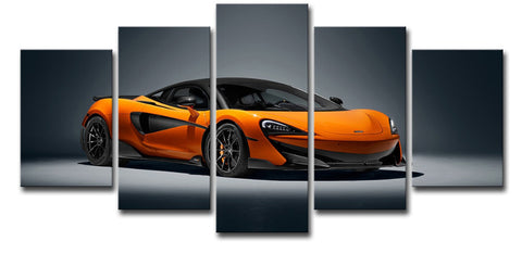 5Pcs Sports Car Art For Your Home/Office Room