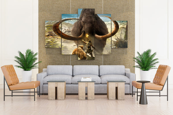Mammoth Warriors Far Cry - 5 piece Canvas - EpicKanvas