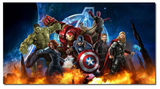 1 Piece Framed Marvel Avengers Super Hero Artwork on Wall Art for Office/Home Wall Decor