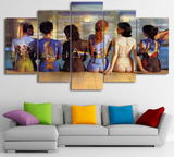5 Pcs Framed Pink Floyd Back Canvas Artwork For Your Home & Office Wall Decor - EpicKanvas
