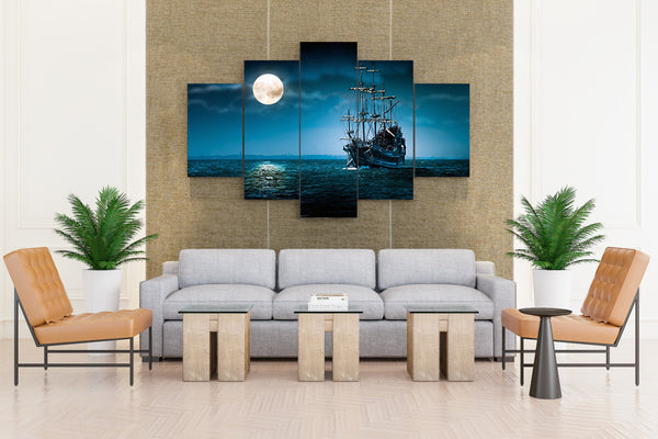 Sailing Ships The Flying - 5 piece Canvas - EpicKanvas