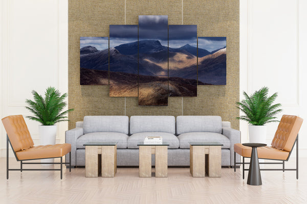 Scotland Mountains Highlands  - 5 piece Canvas