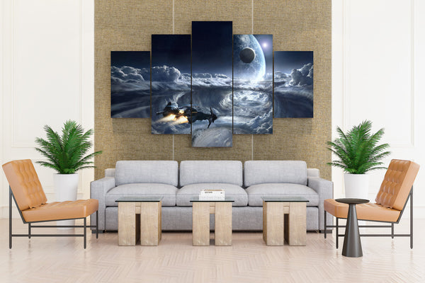 Star Citizen Ships - 5 piece Canvas - EpicKanvas