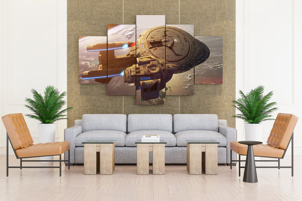 Star Trek Movies - 5 piece Canvas - EpicKanvas
