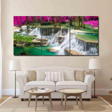 3 Pcs Framed Wonderful Waterfalls for your Home/Office Space - EpicKanvas