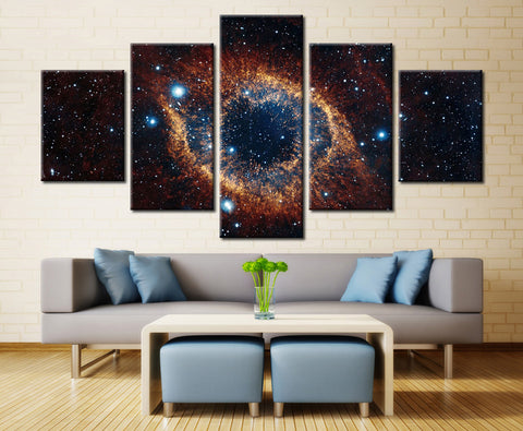 Space Stars - 5 piece Canvas