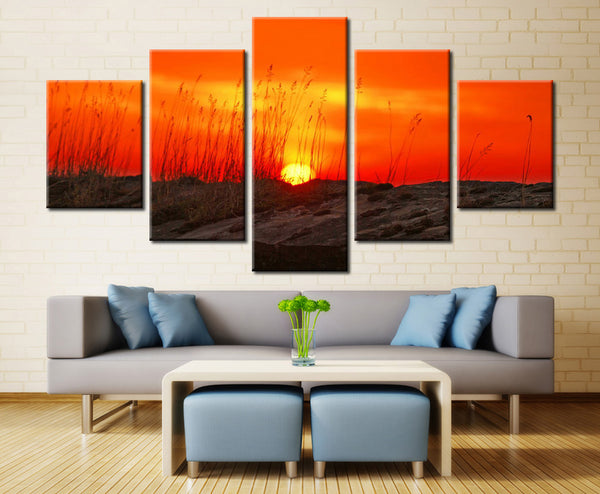 Sun and Sky - 5 piece Canvas - EpicKanvas