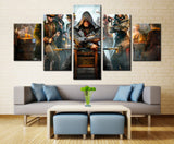 Movie heroes - 5 piece Canvas