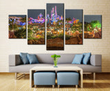 Lighting park - 5 piece Canvas - EpicKanvas