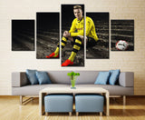Football Player - 5 piece Canvas