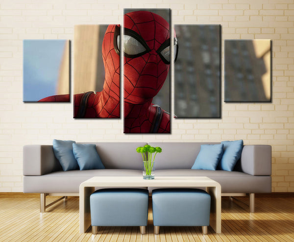 Movie Hero - 5 piece Canvas
