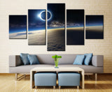 5 Pcs Earth Planet Distant View for Office/Home Beauty - EpicKanvas