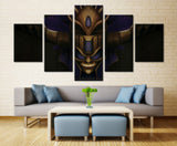 Game Hero - 5 piece Canvas