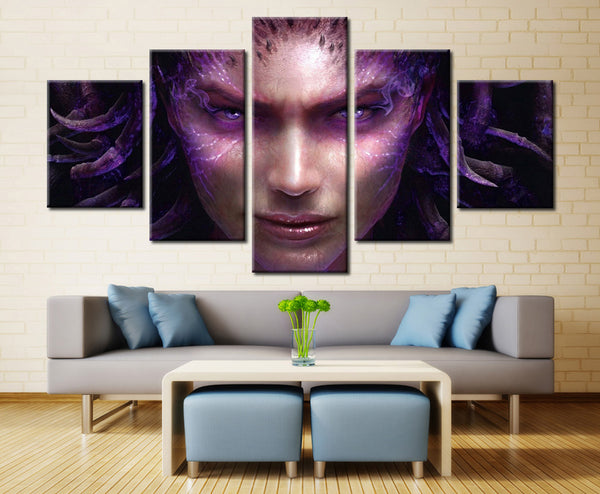 Movie heroin - 5 piece Canvas - EpicKanvas