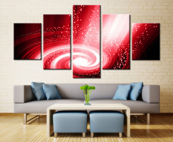 Colorful Painting  - 5 piece Canvas
